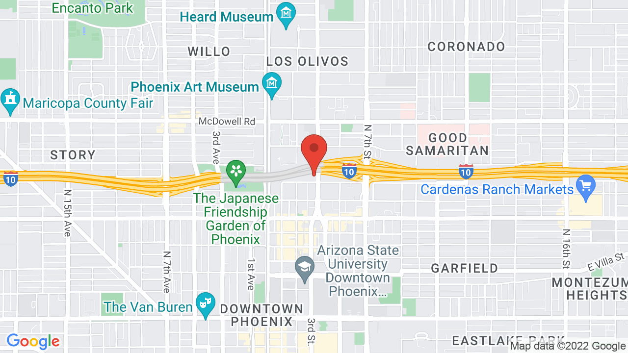 Map for Margaret T. Hance Park