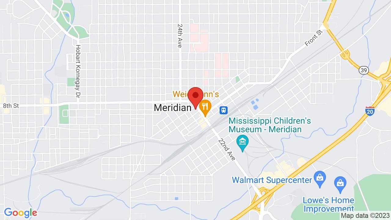 Map for MSU Riley Center