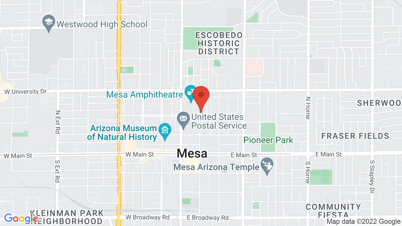 Map for Mesa Amphitheatre