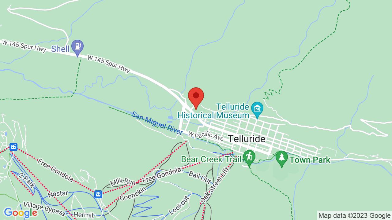 Map for Michael D. Palm Theatre