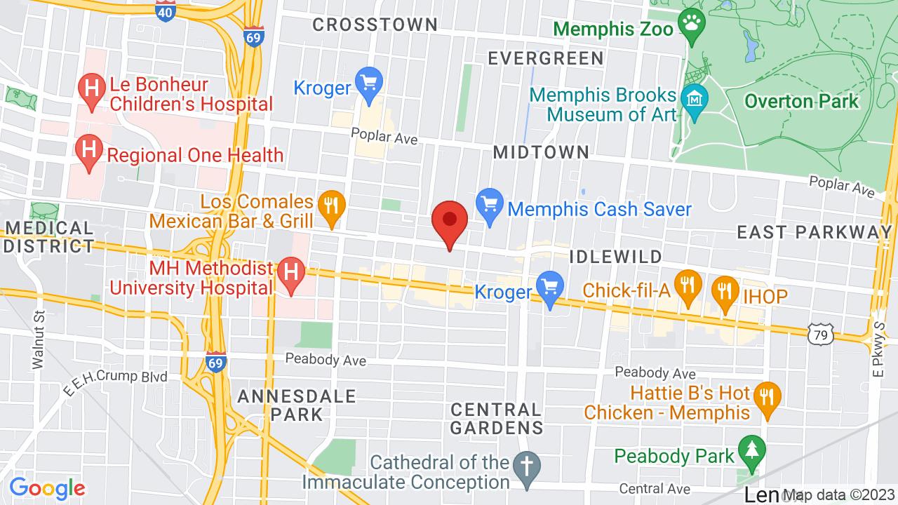 Map for Minglewood Hall