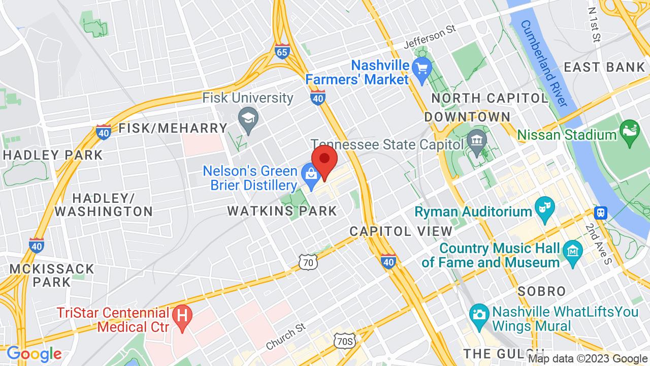 Map for Marathon Music Works