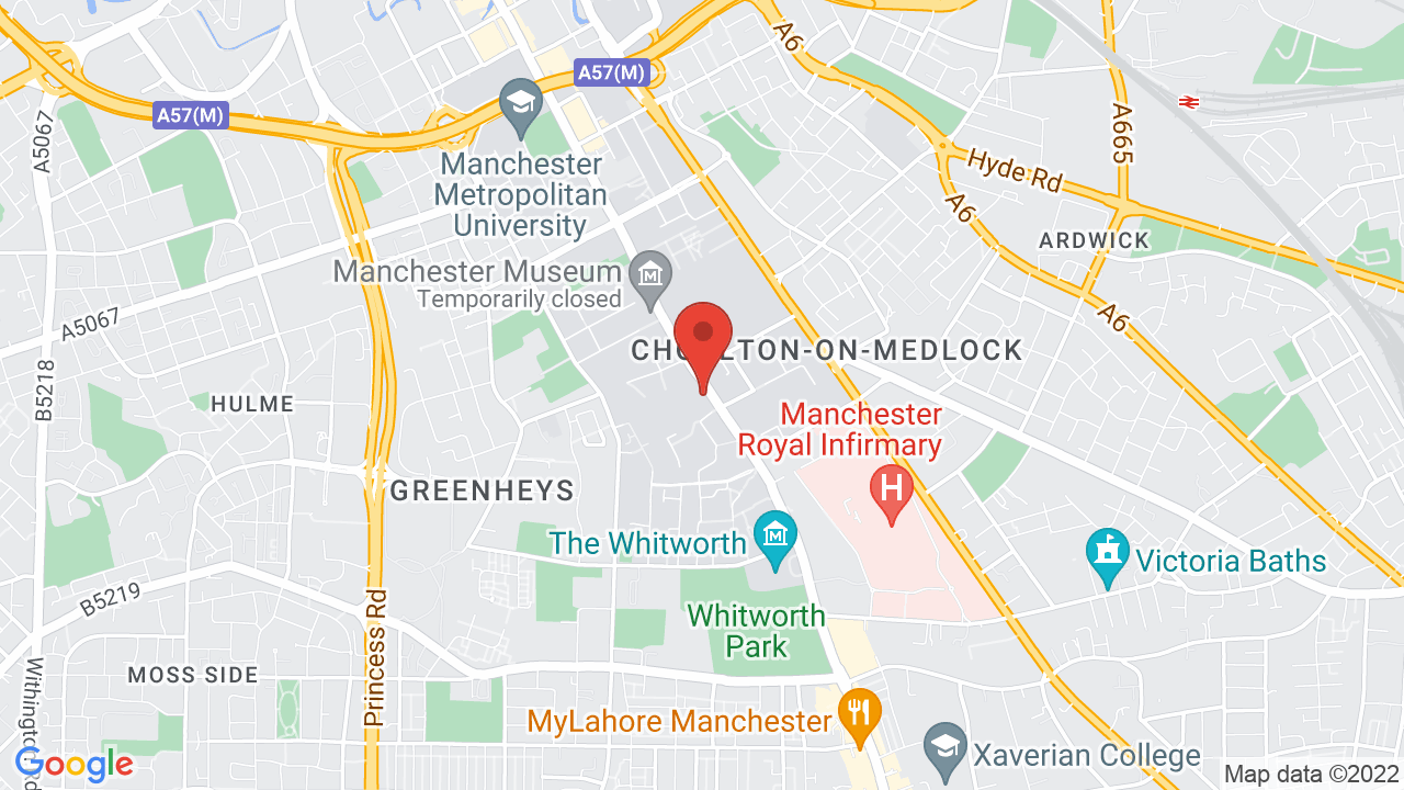Map for Manchester Academy
