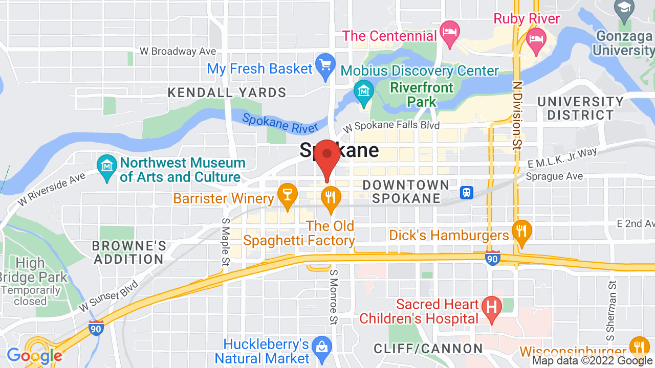 Map for Martin Woldson Theater at The Fox