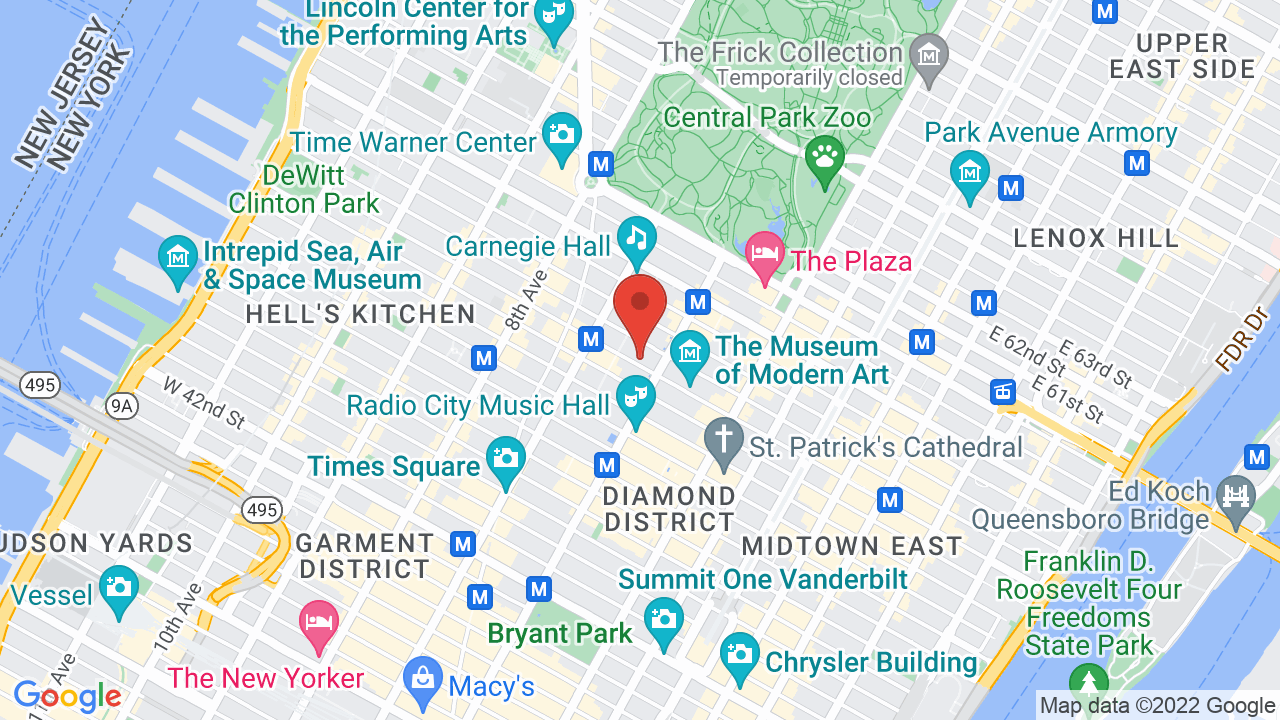New York Hilton Hotel - Shows, Tickets, Map, Directions Hilton Hotel Map on