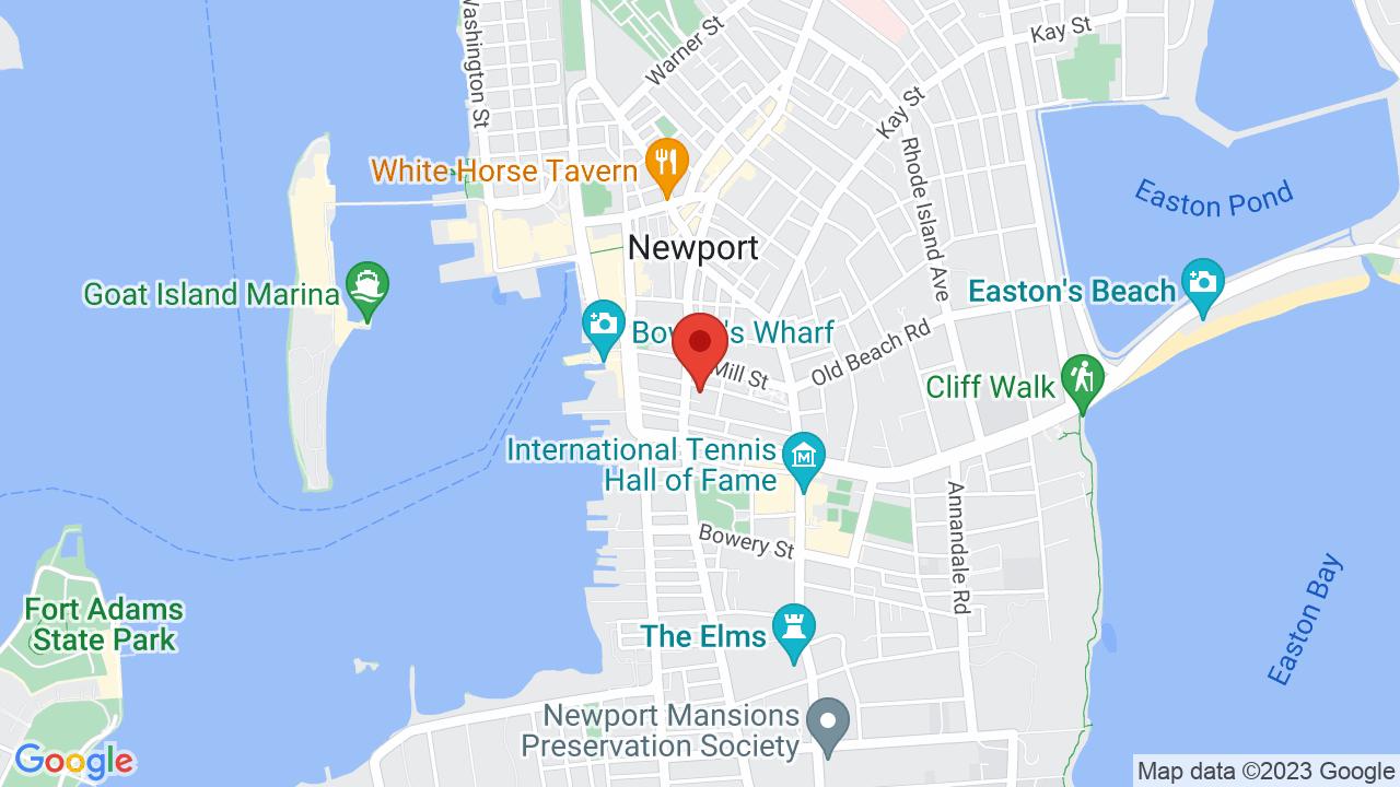 Map for Newport Congregational