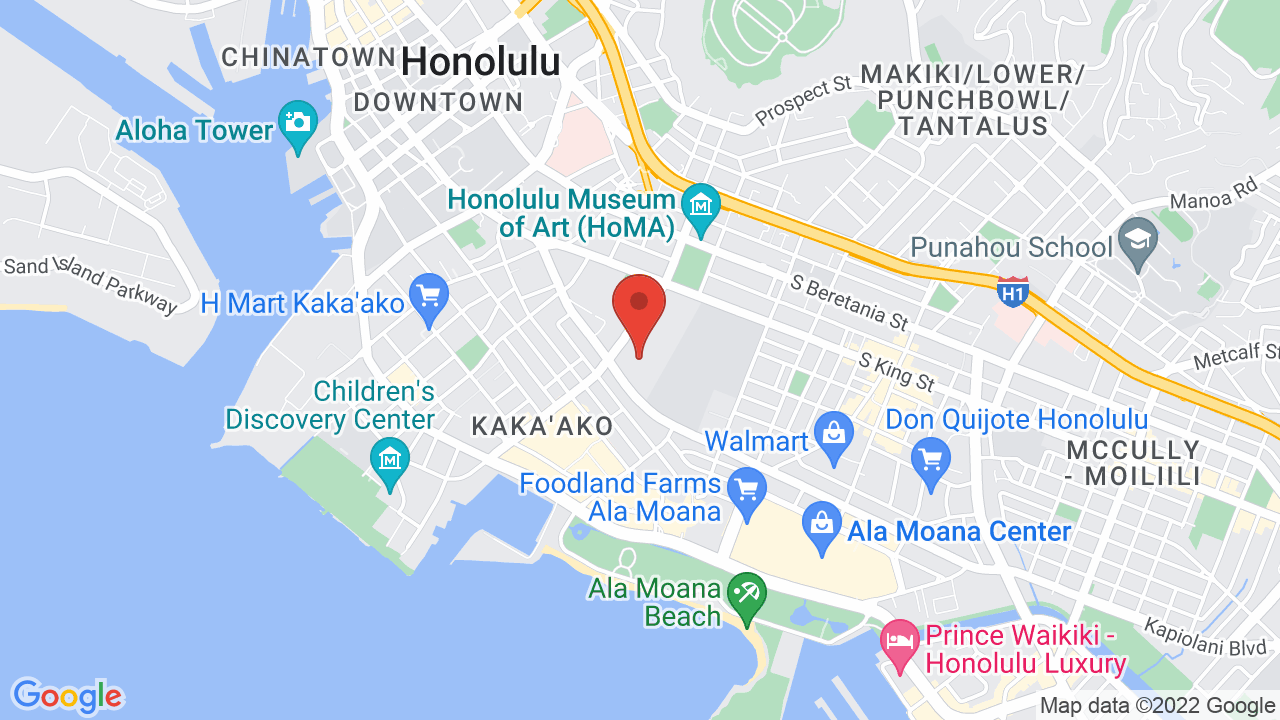Map for Neal S. Blaisdell Arena