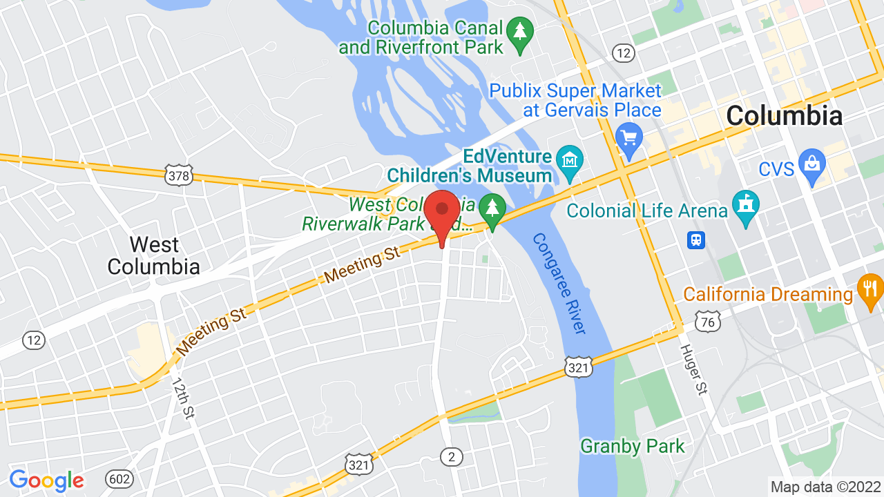 Map for New Brookland Tavern