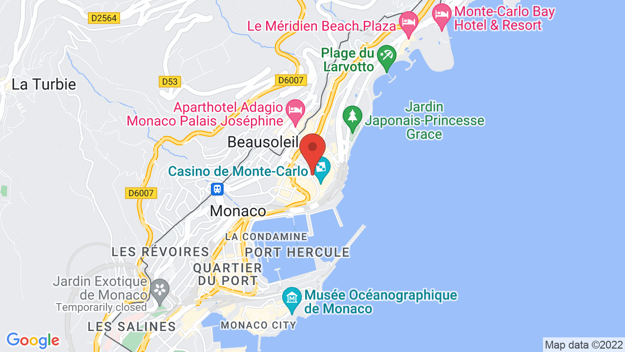 Monte Carlo World Map.Opera De Monte Carlo Shows Tickets Map Directions