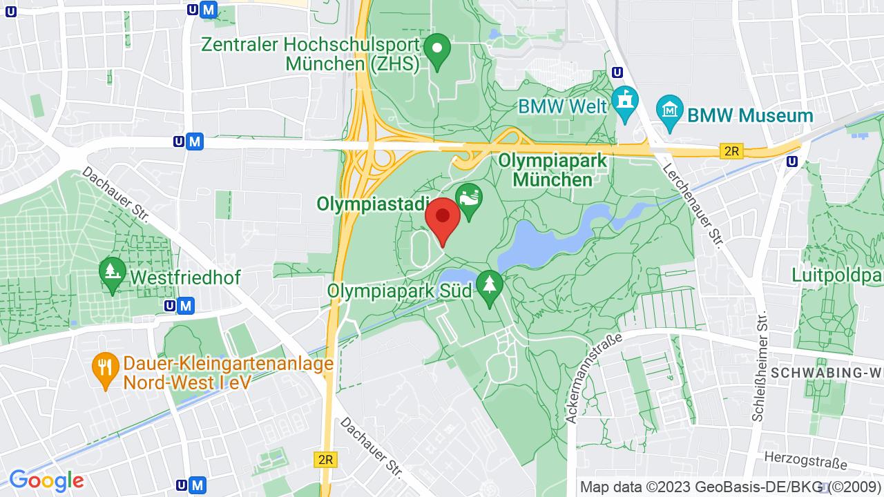 Map for Olympic Stadium