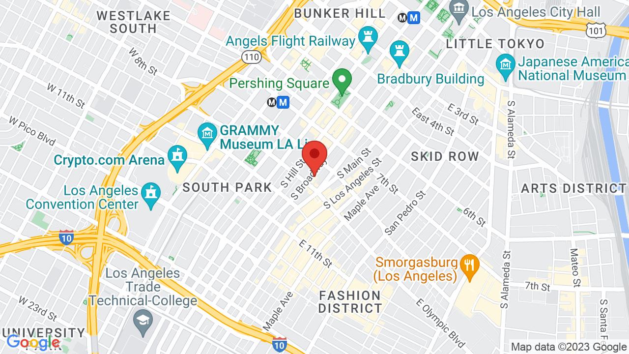 Map for Orpheum Theatre