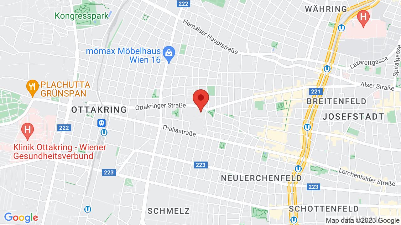 Map for Ottakringer Brauerei