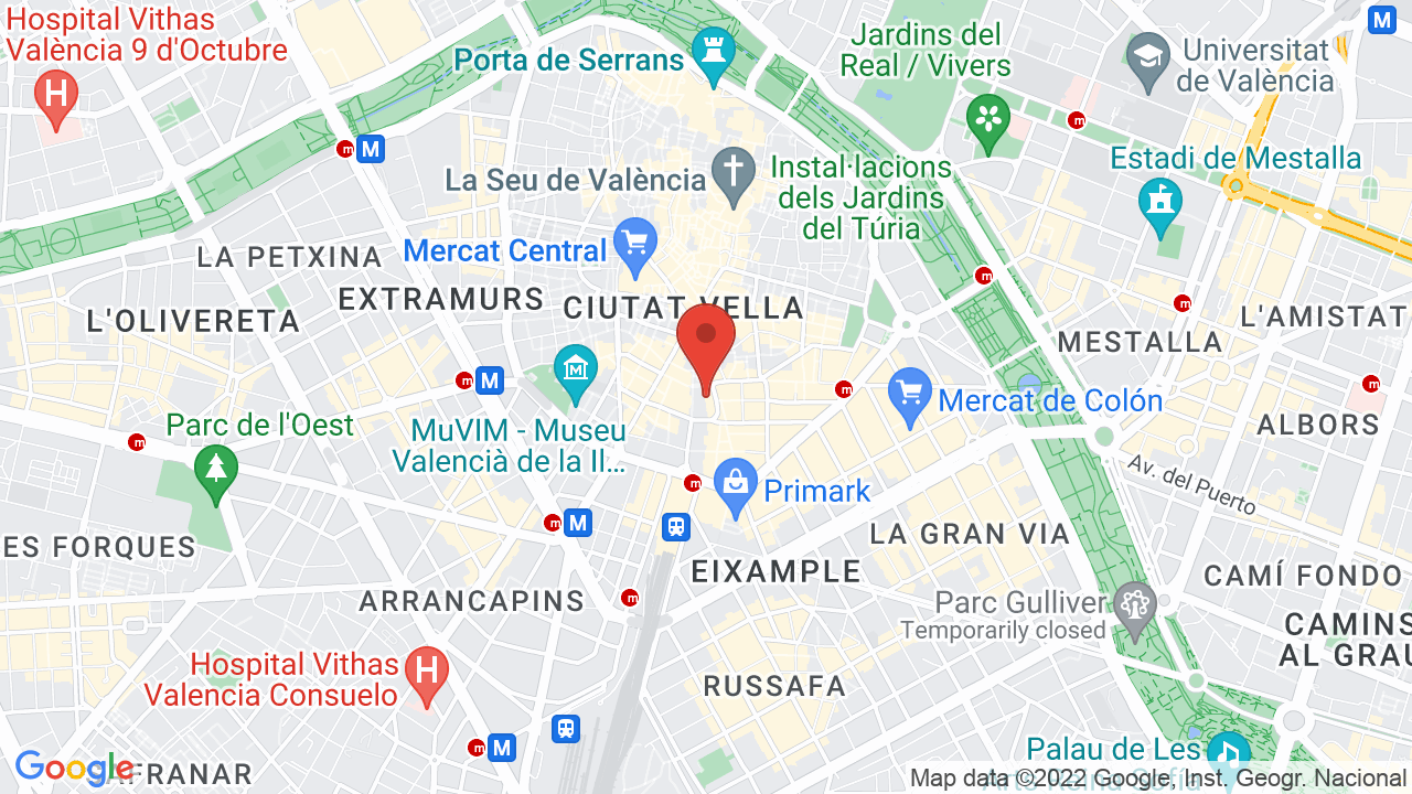 Map for Plaza De Toros