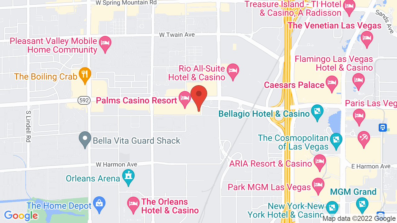 Map for Pearl Concert Theater