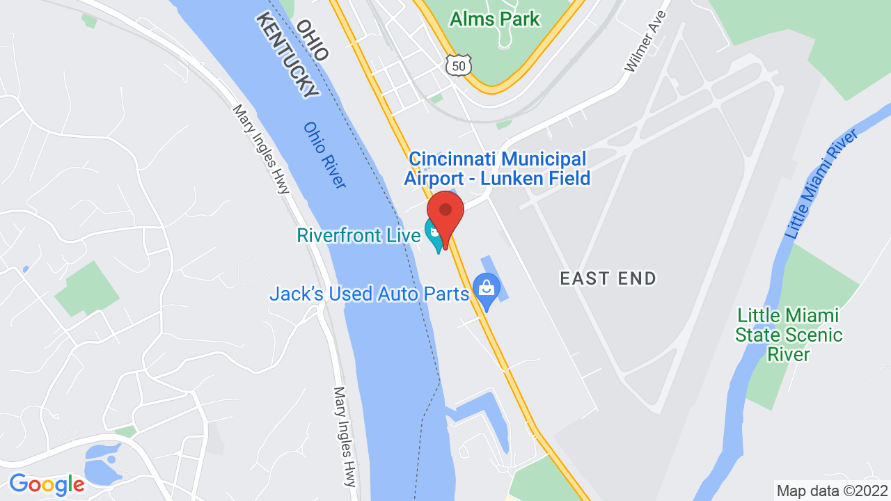 Map for Riverfront Live