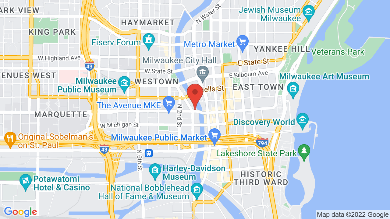 Milwaukee State Map.Riverside Theater Shows Tickets Map Directions