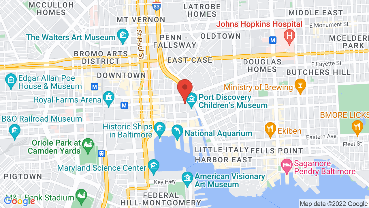 Map for Rams Head Live