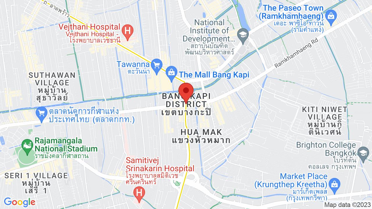 Map for Rajamangala Stadium