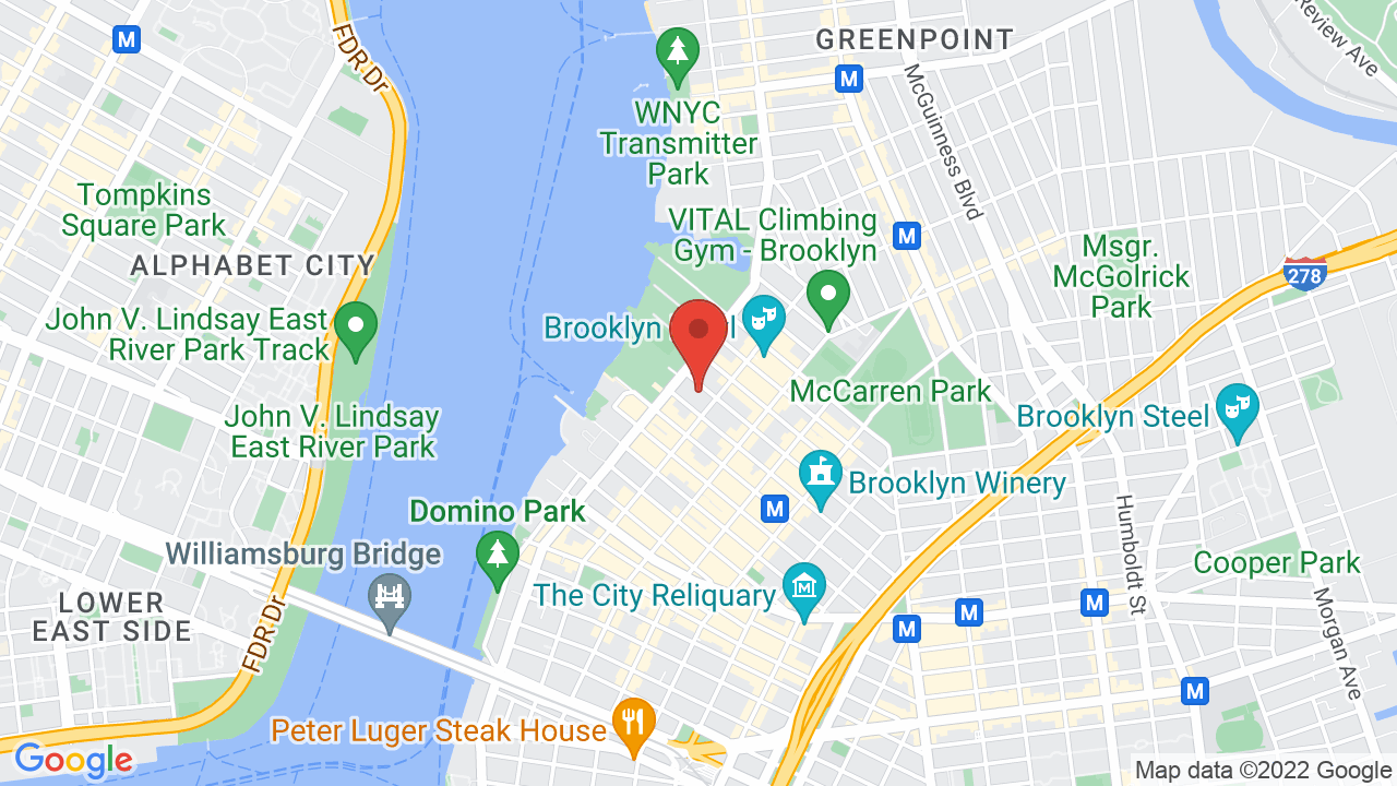 Map for Rough Trade NYC