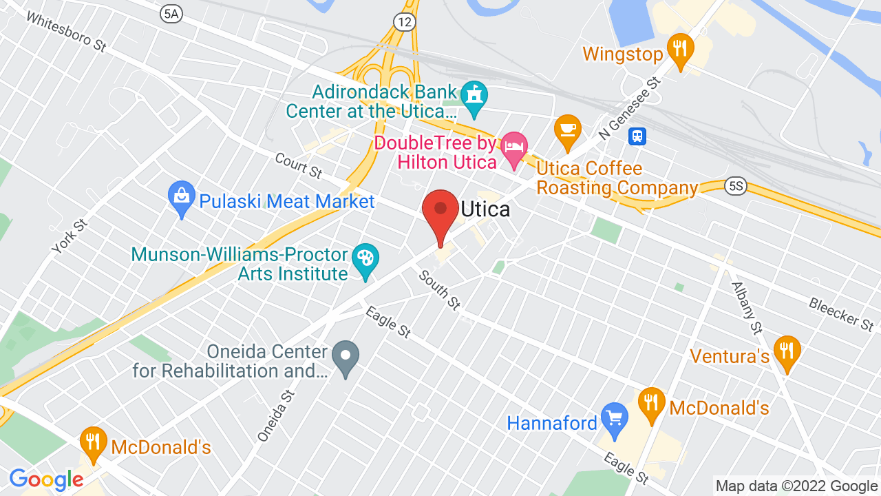 Map for Stanley Performing Arts Center