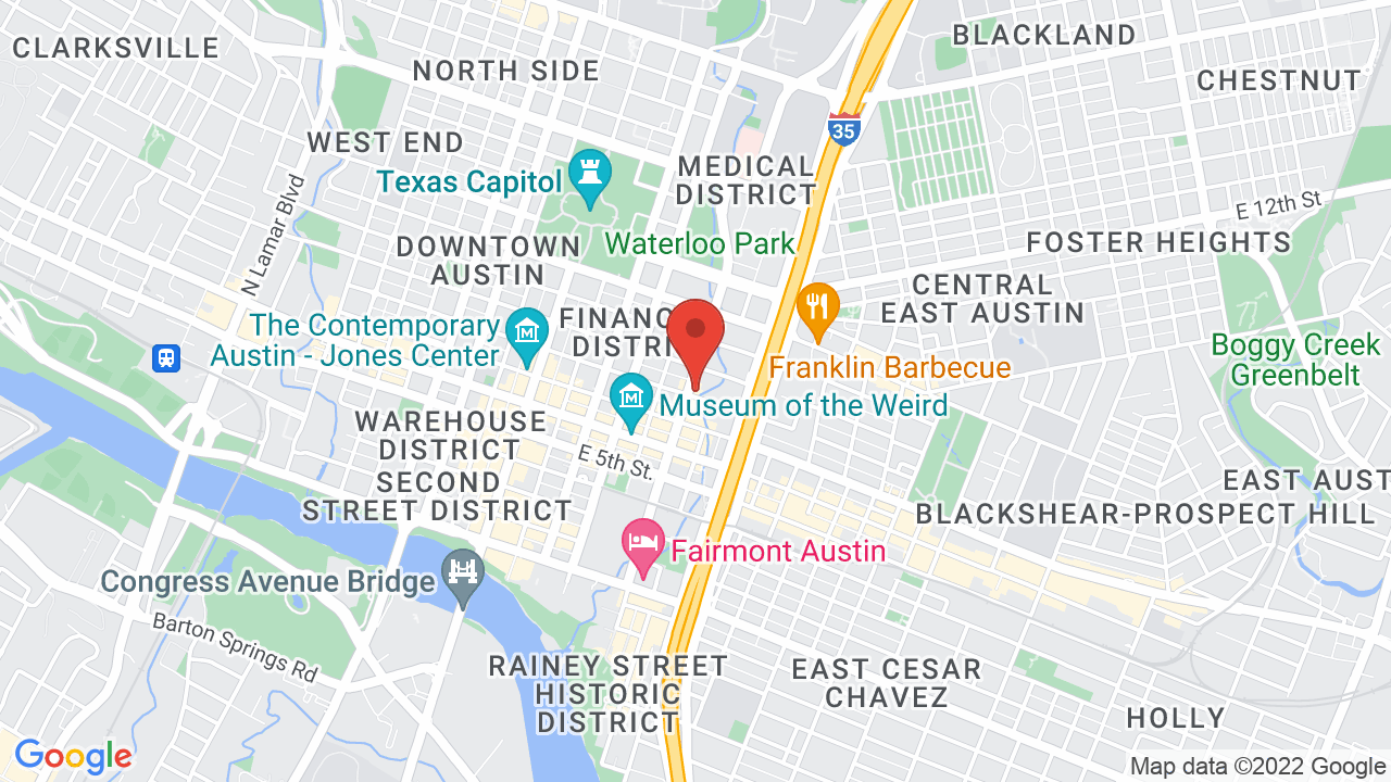 Map for Stubb's Waller Creek Amphitheater
