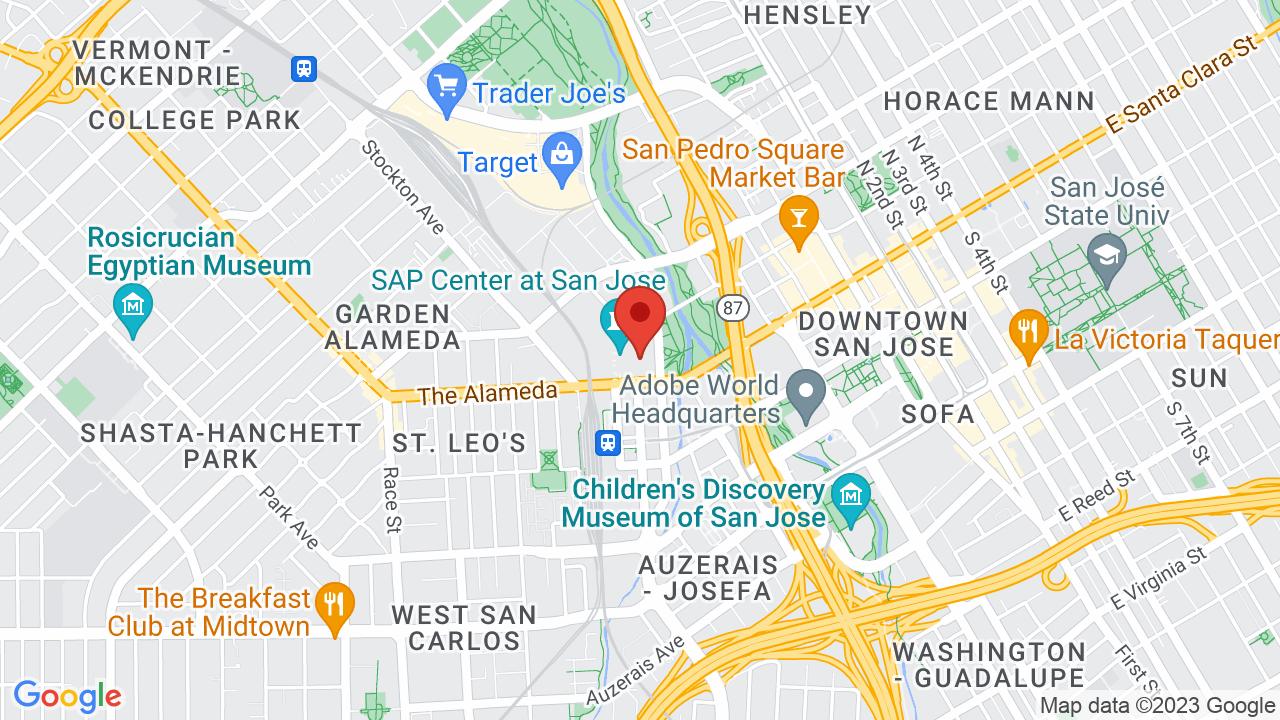 Map for SAP Center