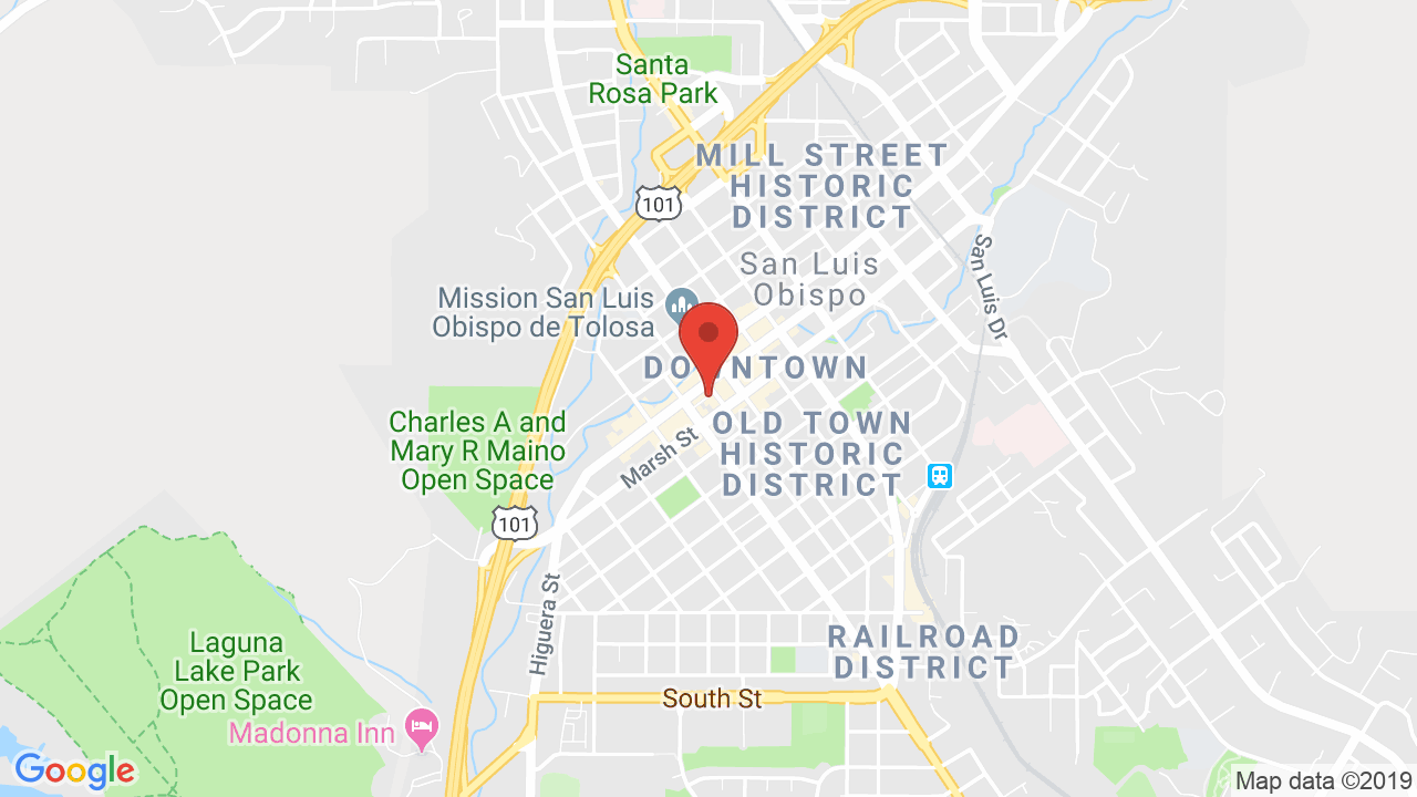 Map for SLO Brewing Company