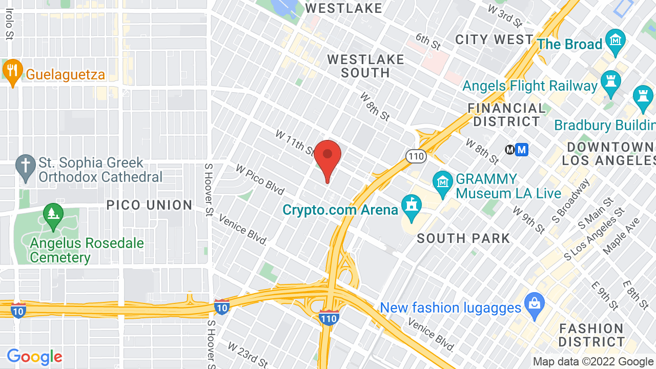 The Sanctuary at Pico Union - Shows, Tickets, Map, Directions