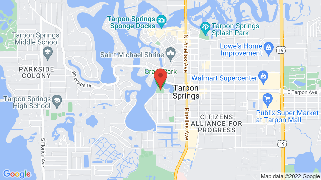 Tarpon Springs Florida Map.Tarpon Springs Heritage Museum Shows Tickets Map Directions