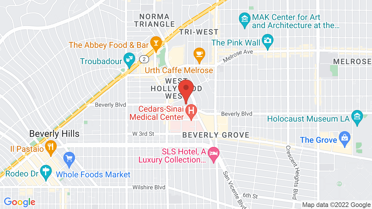 Map for The Peppermint Club