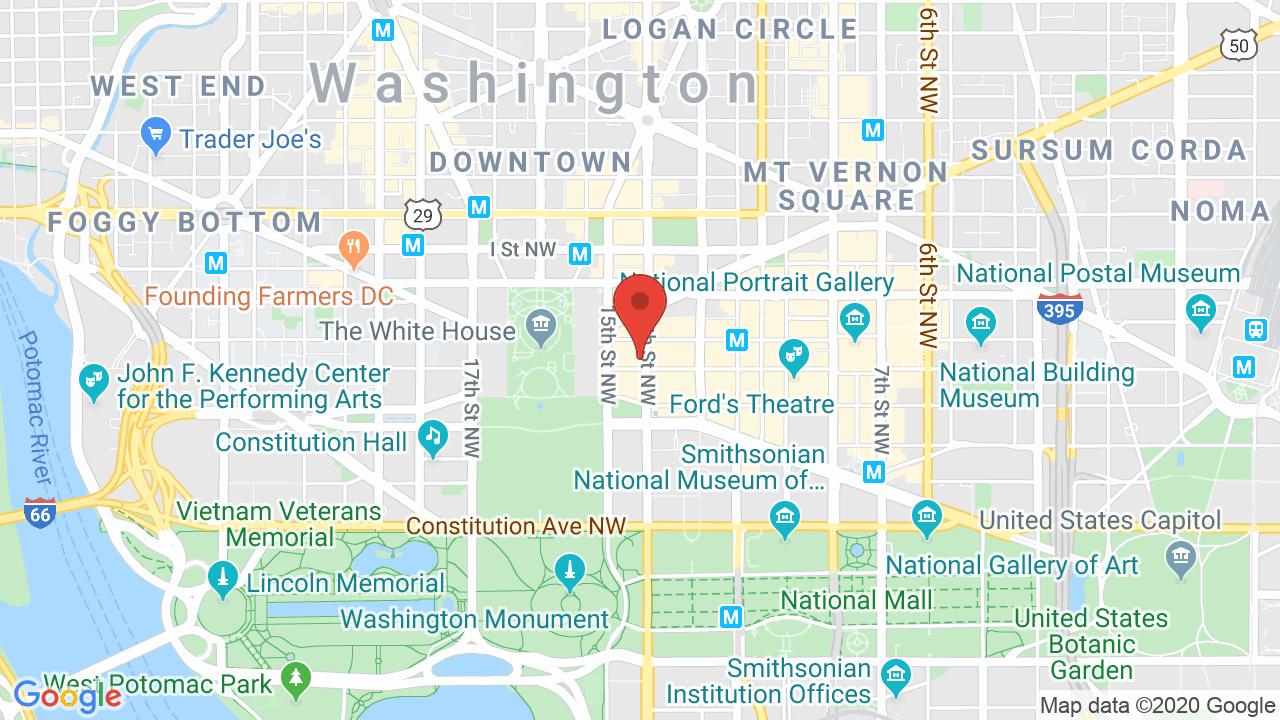 Map for The Hamilton (Loft)