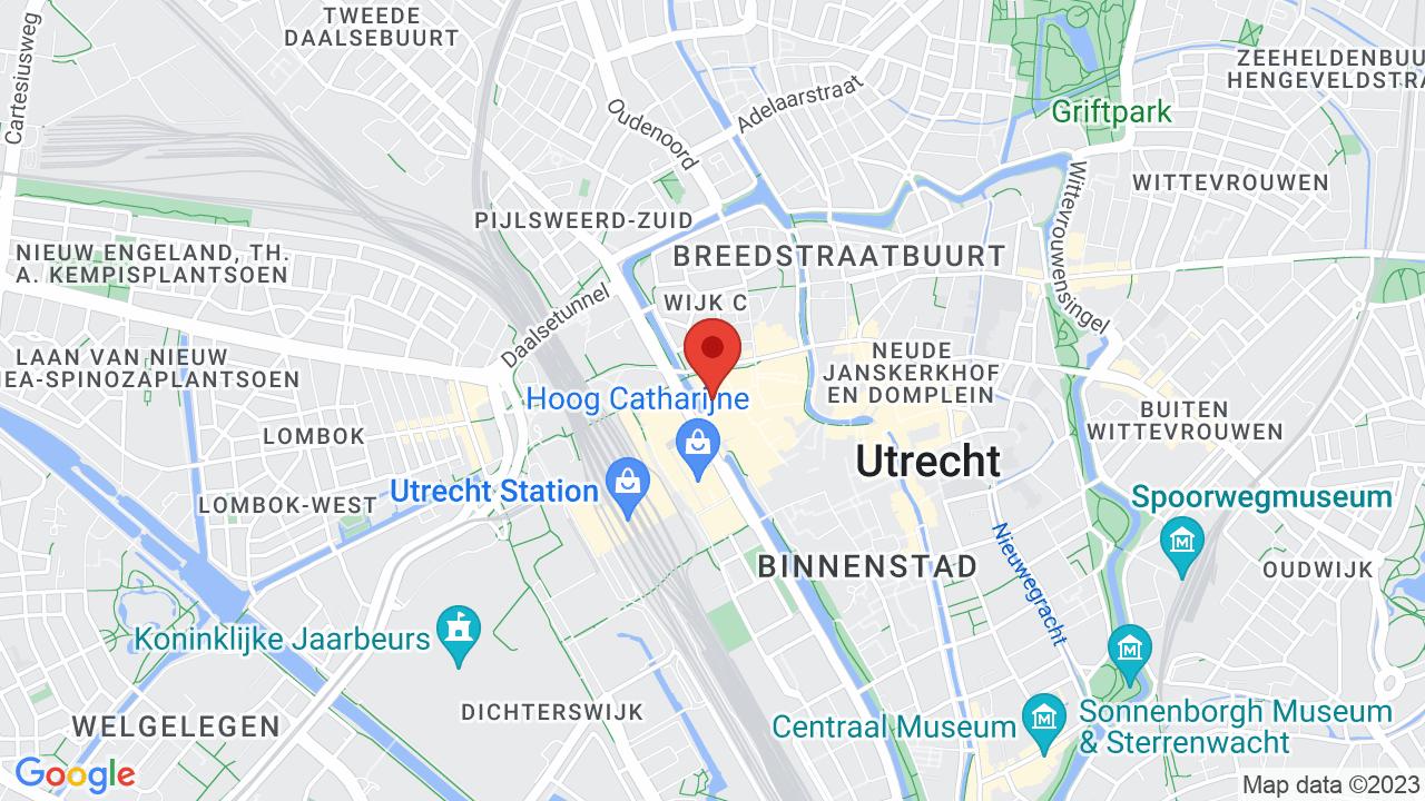 Map for TivoliVredenburg