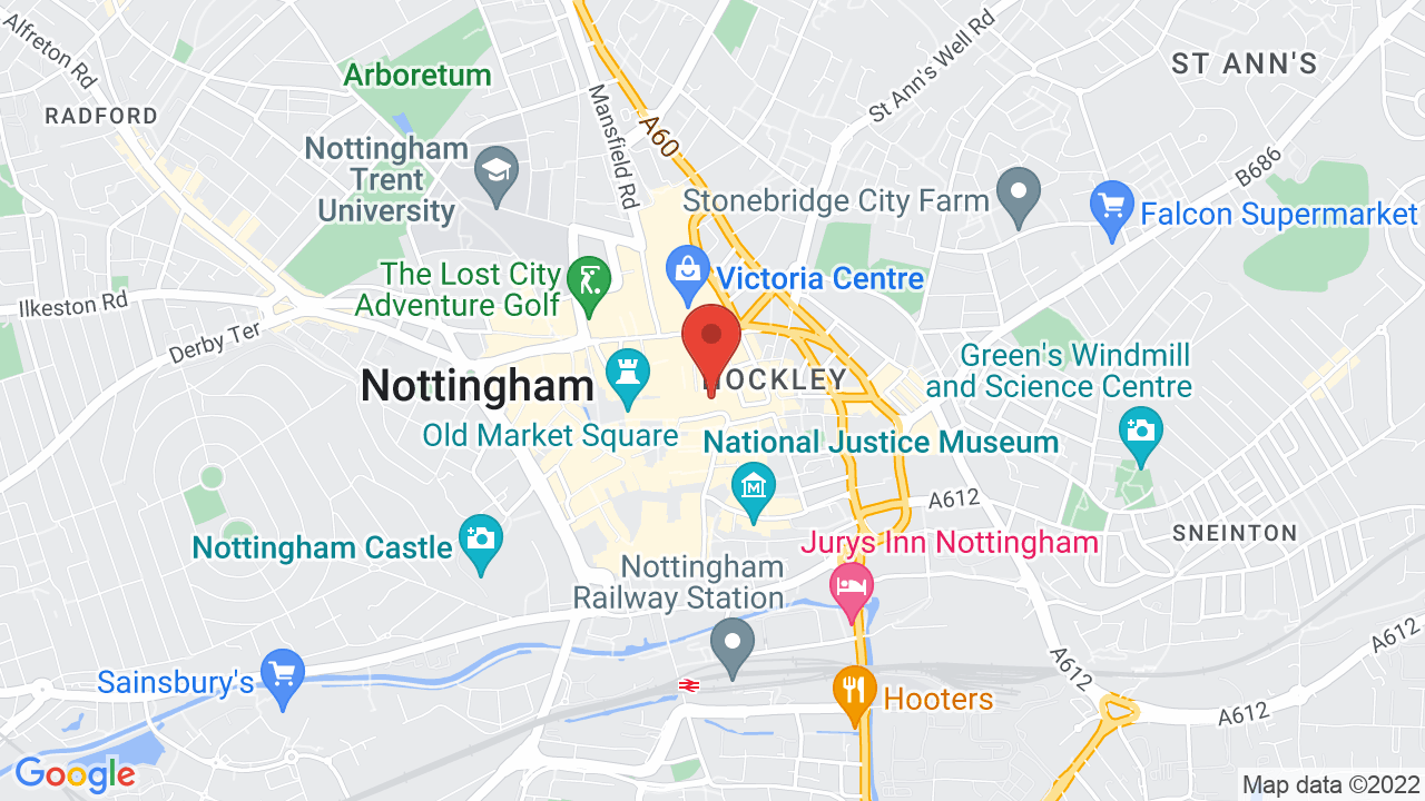 Map Of Uk Nottingham.The Bodega Shows Tickets Map Directions