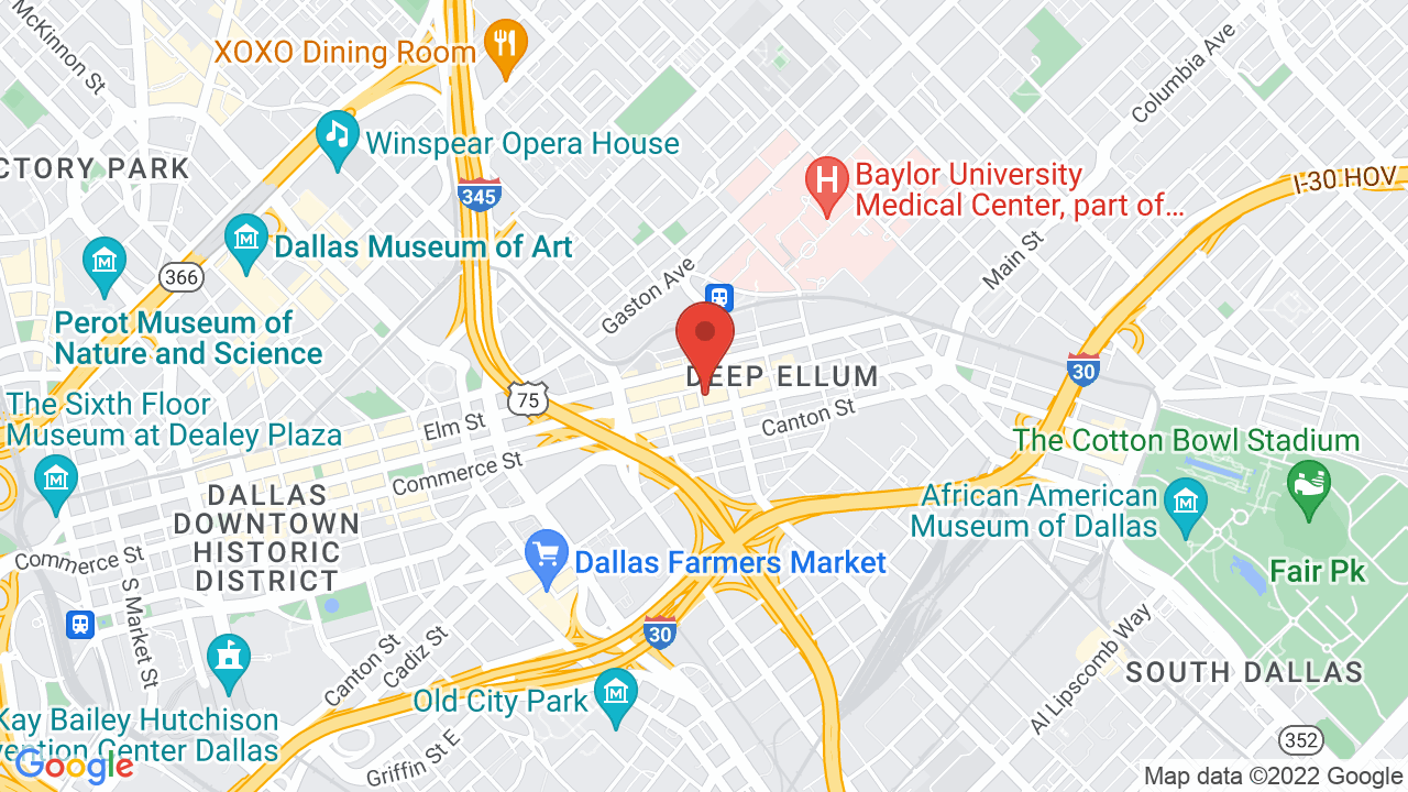 Map for The Curtain Club