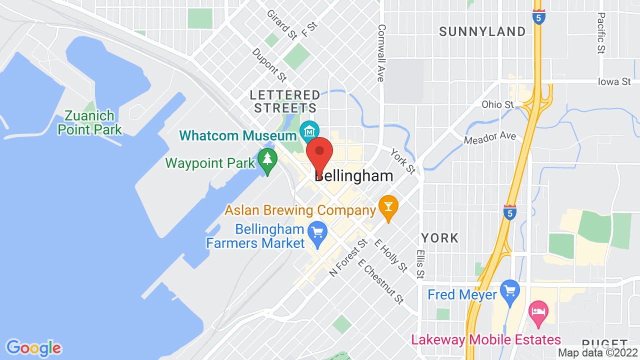 Map for The Wild Buffalo