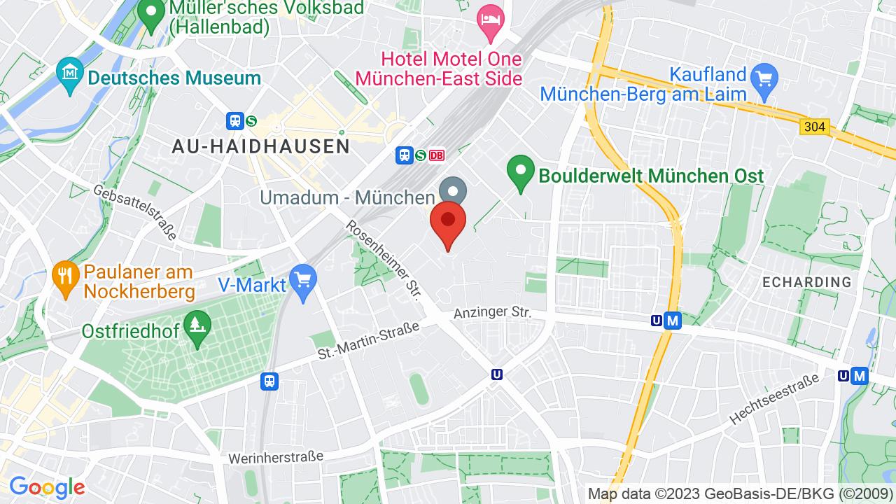Map for Technikum