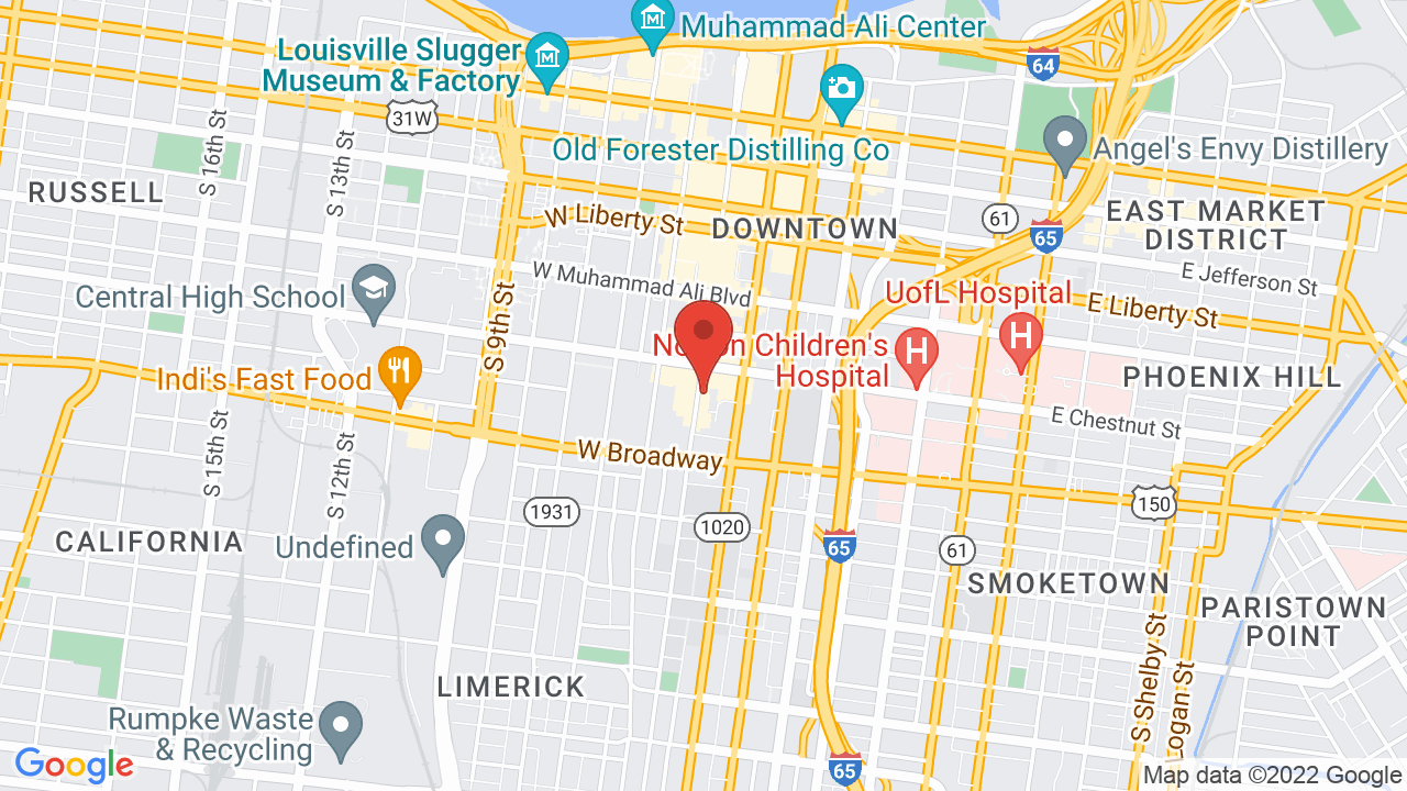 Map for The Louisville Palace Theater