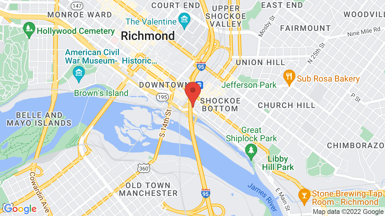 Map for The Canal Club