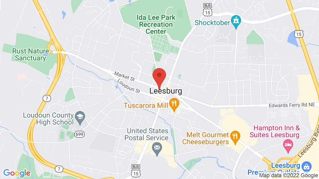 Map for Tally Ho Theatre