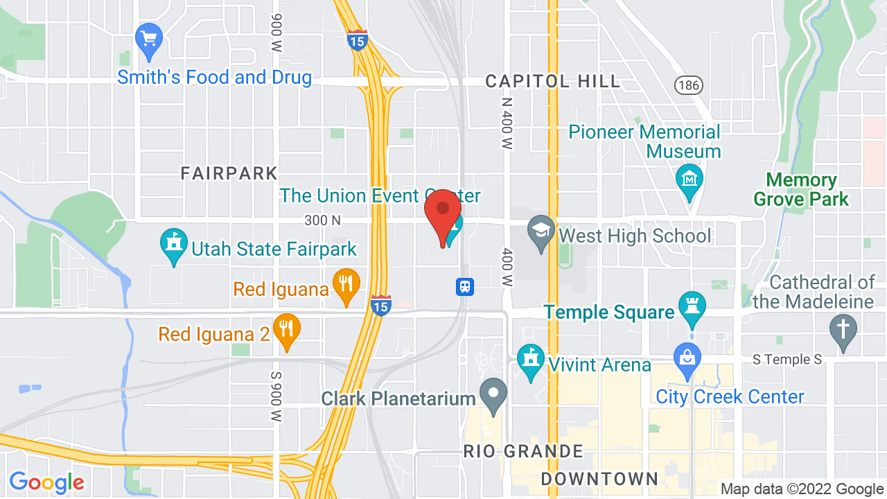 Map for Union Event Center