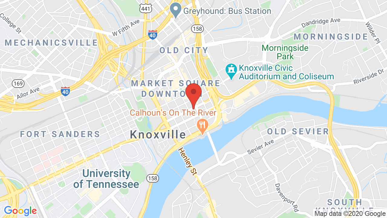 Map for U.S. Cellular Stage at The Bijou Theatre