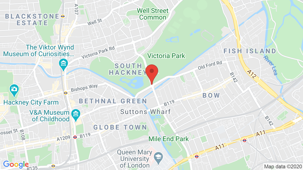 Map for Victoria Park