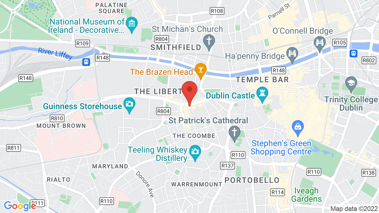 Map for Vicar Street