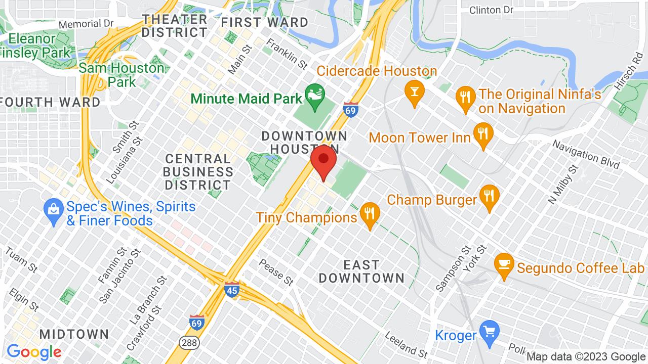 Map for Warehouse Live Ballroom