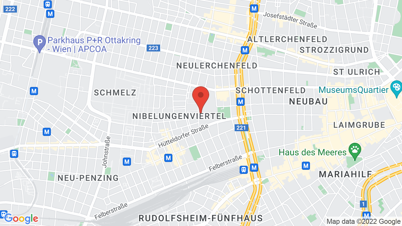 Map for Wiener Stadthalle