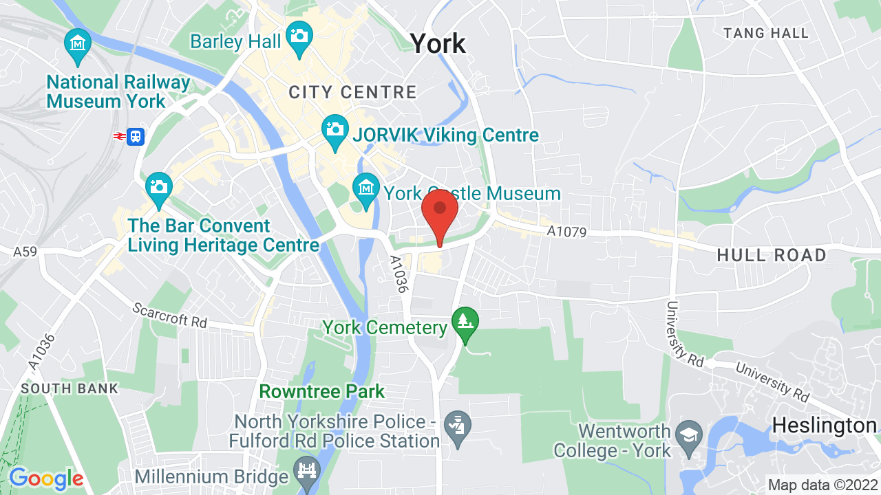 Map for York Barbican Centre